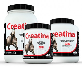 Creatina Vetnil 500gr  - Farmácia do Cavalo