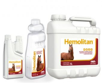 Hemolitan 1L  - Farmácia do Cavalo