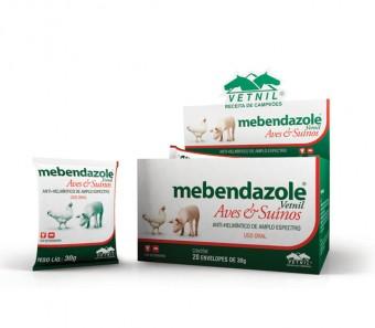 Mebendazole Aves/Suínos 30g  - Farmácia do Cavalo
