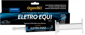 Organnact Eletro Equi Gel 40g  - Farmácia do Cavalo