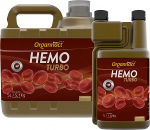 Organnact Hemo Equi Turbo 5L  - Farmácia do Cavalo