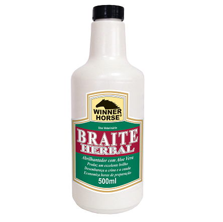 Braite Herbal c/ Aloe Vera Refil 500ml  - Farmácia do Cavalo