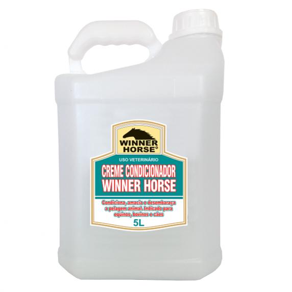 Creme Condicionador Winner Horse 5L  - Farmácia do Cavalo