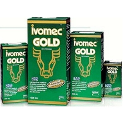Ivomec Gold Inj 500ml  - Farmácia do Cavalo