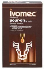 Ivomec Pour On 1L  - Farmácia do Cavalo