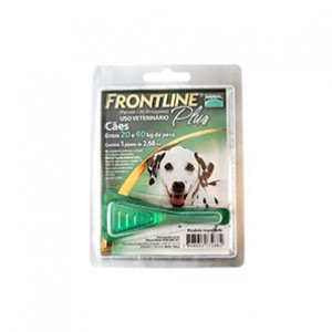 Frontline Plus 20 a 40Kg. G  - Farmácia do Cavalo