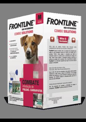 Frontline Combate M - 10 a 20Kg  - Farmácia do Cavalo
