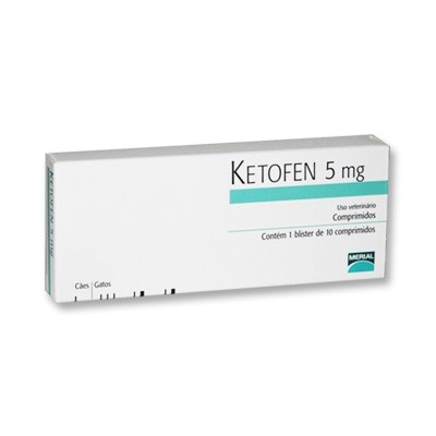 Ketofen 05 mg c/ 10 comp.  - Farmácia do Cavalo