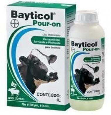 Bayticol Pour On 1L  - Farmácia do Cavalo
