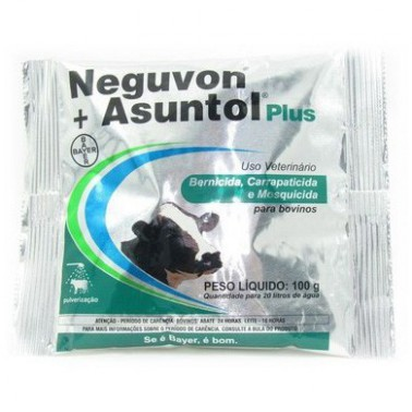Neguvon + Asuntol Plus 100gr  - Farmácia do Cavalo