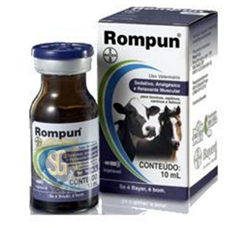 Rompum 10ml  - Farmácia do Cavalo
