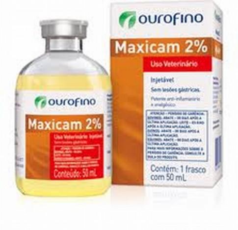 Maxicam 2% 50ml  - Farmácia do Cavalo