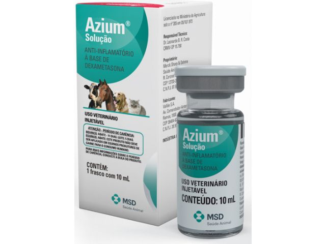 AZIUM 10 ML  - Farmácia do Cavalo