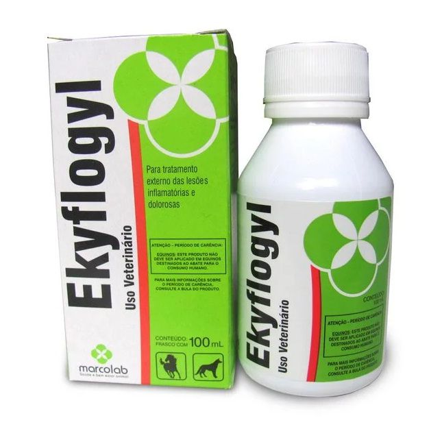 EKYFLOGIL 100 ML  - Farmácia do Cavalo
