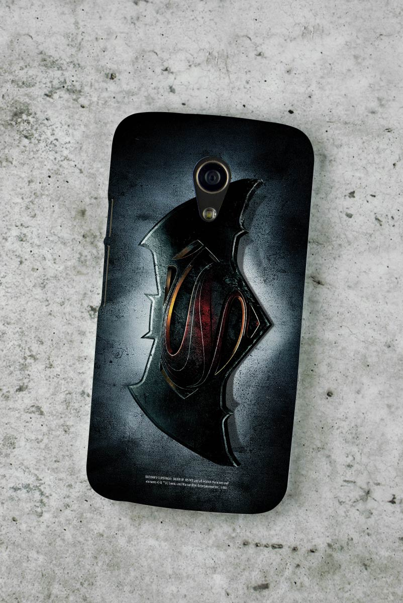 Capa para Motorola Moto G 2 Batman VS Superman Logo