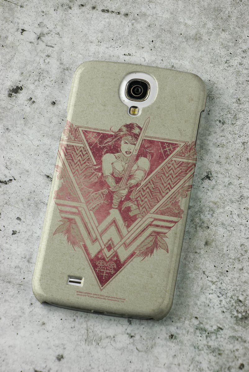 Capa para Samsung Galaxy S4 Wonder Woman Warrior