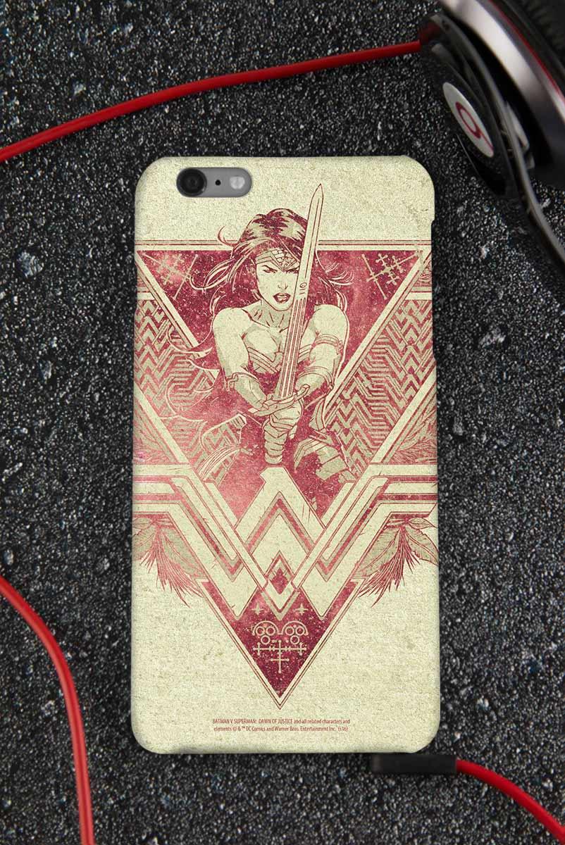 Capa para iPhone 6/6S Plus Wonder Woman Warrior