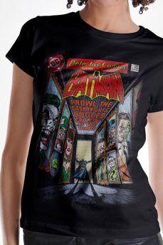 Camiseta Feminina Batman Rogues Gallery