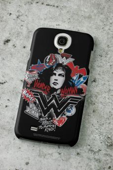 Capa para Samsung Galaxy S4 Wonder Woman She´s a Threat