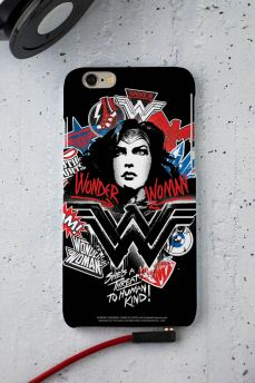 Capa para iPhone 6/6S Wonder Woman She´s a Threat