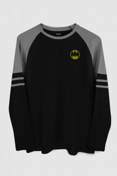 Blusa Manga Longa Masculina Batman Basketball
