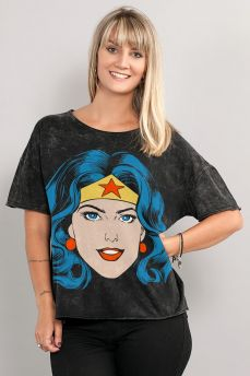 Blusa Feminina Wonder Woman Pop Culture