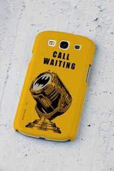 Capa de Celular Samsung Galaxy S3 Batman Chamada em Espera