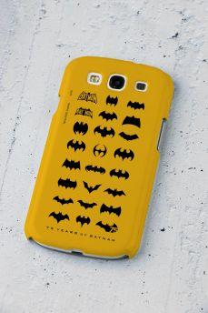 Capa de Celular Samsung S3 Batman 75 Anos Logos Collection
