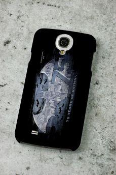 Capa de Celular Samsung S4 Batman 75 Anos Logo 2