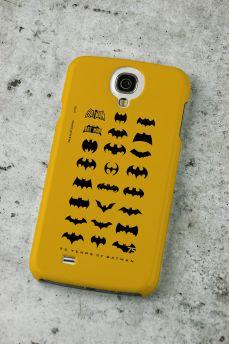 Capa de Celular Samsung S4 Batman 75 Anos Logos Collection