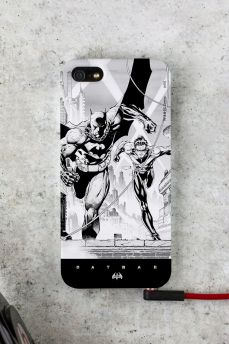 Capa para iPhone 5/5S Tracing Batman e Robin