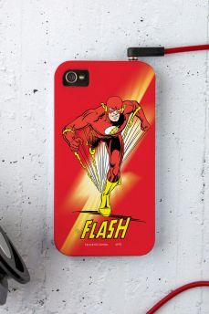 Capa para iPhone 4/4S The Flash Em Ação