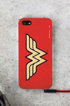 Capa Para iPhone 5/5S Power Girls Wonder Woman