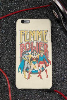 Capa para iPhone 6/6S Plus Power Girls Femme Power
