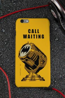 Capa para iPhone 6/6S Plus Batman Chamada em Espera
