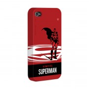 Kit Com 3 Capas de iPhone 4/4S Superman - The Man Of Steel