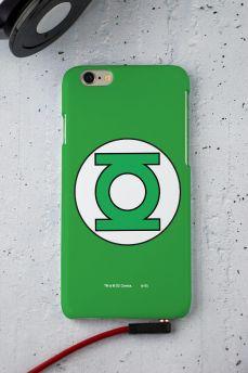 Capa para iPhone 6/6S Lanterna Verde Logo