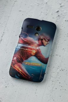 Capa para Motorola Moto G  1 The Flash Serie Running