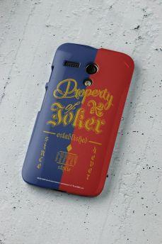 Capa para Motorola Moto G 1 Esquadrão Suicida Property of Joker