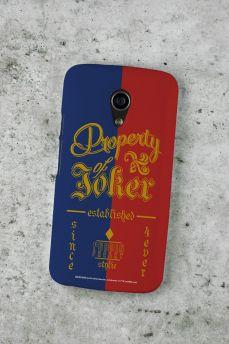 Capa para Motorola Moto G 2 Esquadrão Suicida Property of Joker