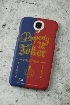 Capa para Samsung Galaxy S4 Esquadrão Suicida Property of Joker