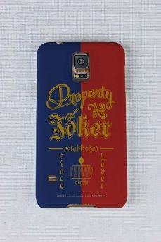 Capa para Samsung Galaxy S5 Esquadrão Suicida Property of Joker