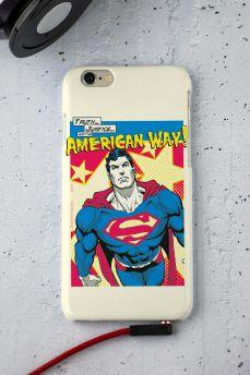 Capa para iPhone 6/6S Superman Verdade, Justiça Ao Jeito Americano