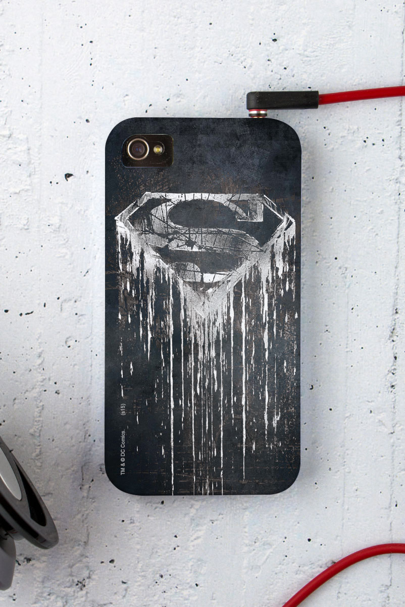 Capa para iPhone 4/4S Superman Steel Melting