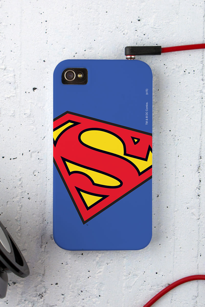 Capa para iPhone 4/4S Superman Logo Superman Oficial