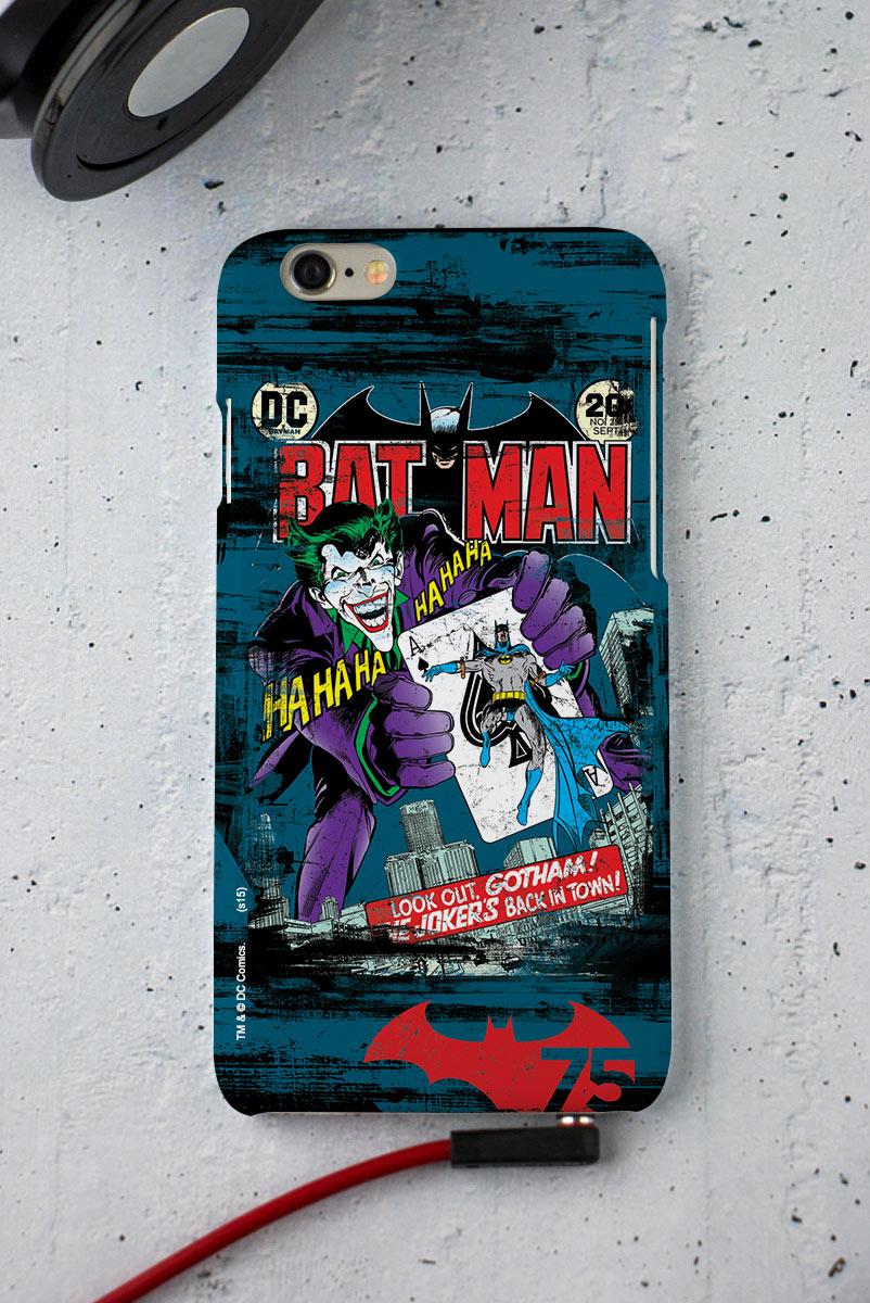 Capa para iPhone 6/6S Batman 75 Anos HQ n° 251
