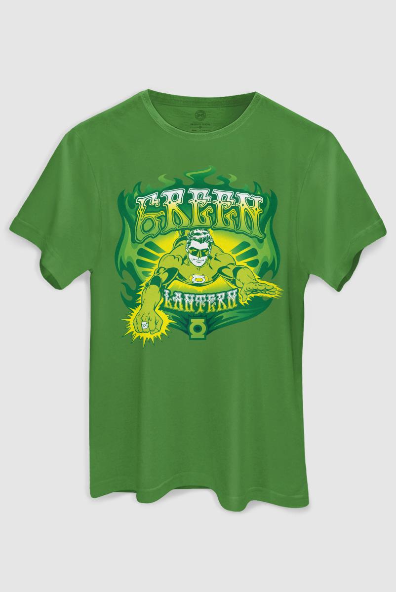 Camiseta Masculina Lanterna Verde em A��o