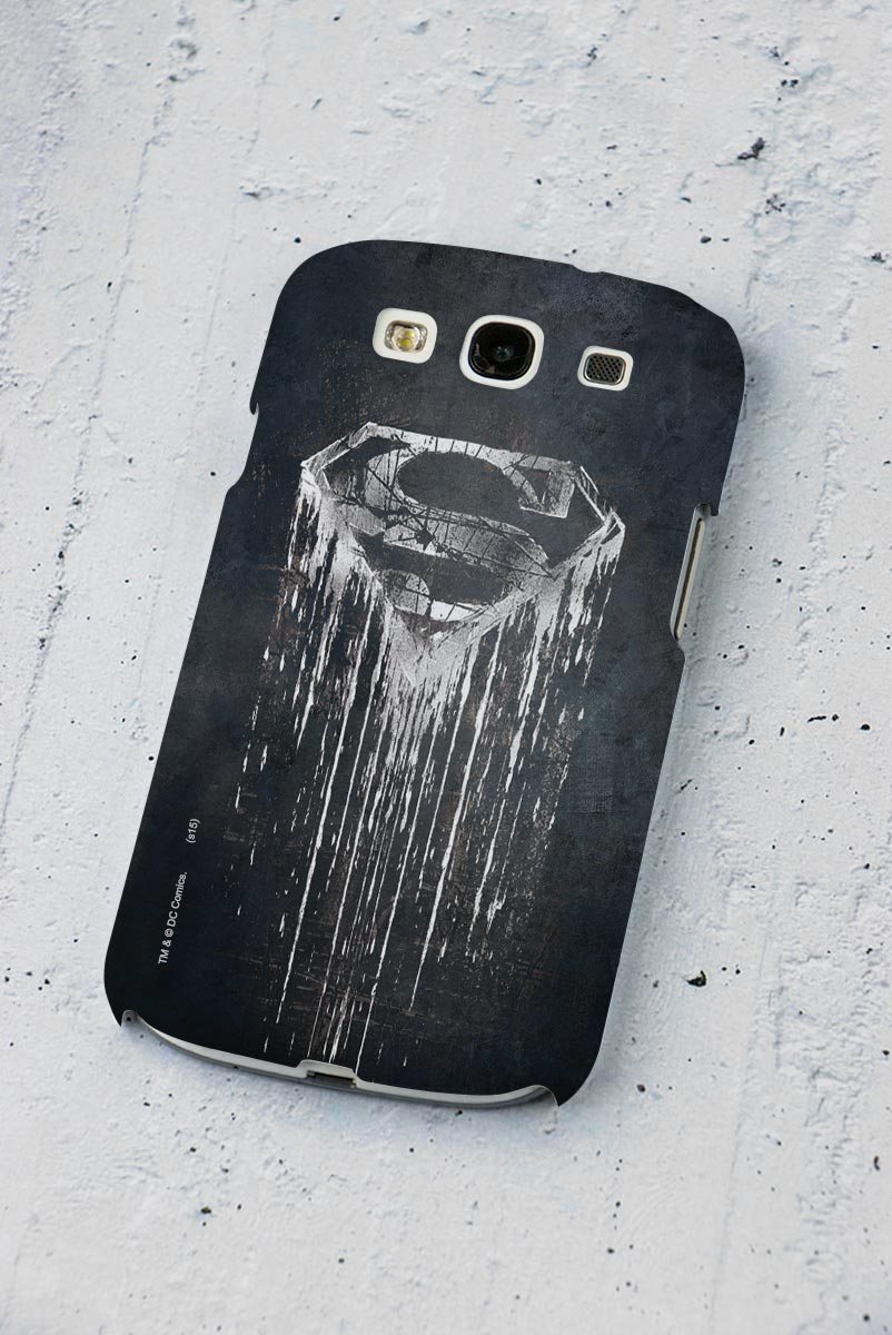 Capa de Celular Samsung Galaxy S3 Superman Steel Melting
