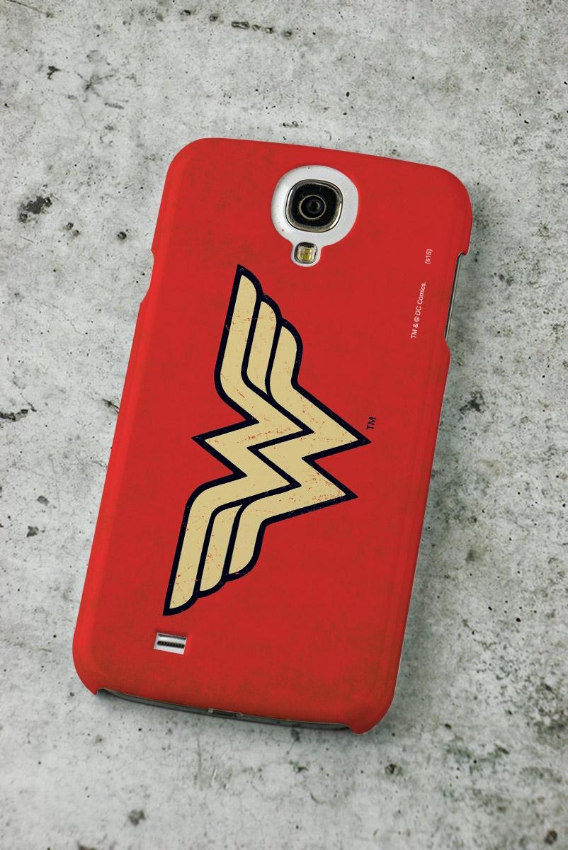 Capa de Celular Samsung Galaxy S4 Power Girls Wonder Woman