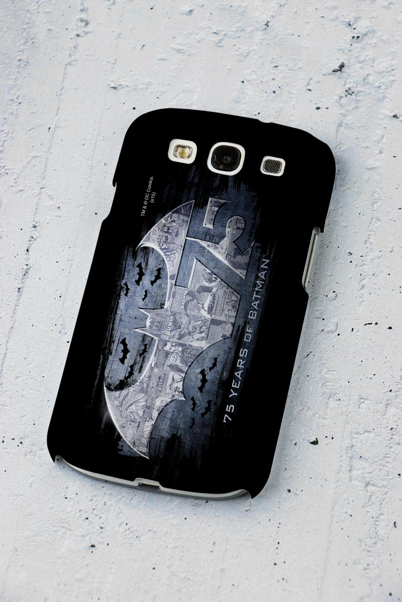 Capa de Celular Samsung S3 Batman 75 Anos Logo 2